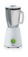 Braun JB 3060 WH Tischplatten-Mixer Grün, Weiß 1.5l 800W (Grün, Weiß)
