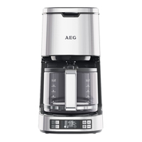 AEG KF7800 koffiezetapparaat Filterkaffeemaschine 1.5l 12Tassen Edelstahl (Edelstahl)
