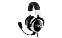 Kingston Technology HyperX Cloud Headset - White (Schwarz, Weiß)