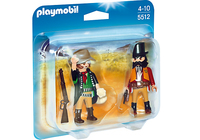 Playmobil 5512 - Duo Pack Sheriff und Bandit (Mehrfarbig)