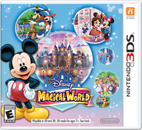 Nintendo Disney Magical World, 3DS