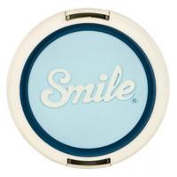 Smile Atomic Age Digitalkamera 55mm Blau, Weiß Objektivdeckel (Blau, Weiß)