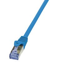 LogiLink 1.5m Cat.6A 10G S/FTP (Blau)