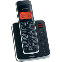 SwissVoice 20407202 Telefon (Schwarz, Silber)