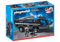 Playmobil 5564 - SEK Einsatztruck mit Licht und Sound (Mehrfarbig)