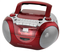 Soundmaster SCD5350RO CD-Radio (Rot)