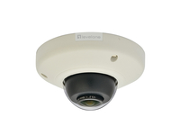 LevelOne Panoramic Dome Network Camera, 5-Megapixel, Outdoor, PoE 802.3af, WDR, Vandalproof, Vibrationproof (Schwarz, Weiß)