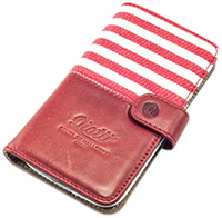 Qiotti Q2110052 Handy-Schutzhülle (Rot)