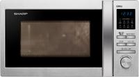 Sharp R-622STWE Mikrowelle (Edelstahl)