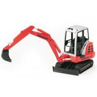 BRUDER Schaeff HR16 Mini excavator (Schwarz, Rot, Weiß)