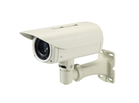 LevelOne Zoom Network Camera, 5-Megapixel, Outdoor, PoE 802.3af, Day & Night, IR LEDs, 12x, WDR (Weiß)