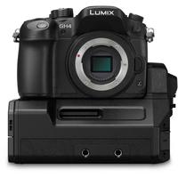 Panasonic Lumix DMC-GH4 + DMW-YAGHE Systemkamera 16.05MP Live MOS 4608 x 3456Pixel Schwarz (Schwarz)