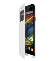 Wiko 93421 Handy-Schutzhülle (Weiß)