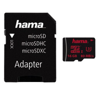 Hama 00123980 16GB MicroSDHC UHS Class 3 Speicherkarte
