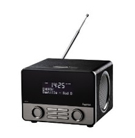 Hama DR1600 Persönlich Analog & digital Schwarz Radio (Schwarz)