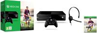 Microsoft Xbox One + FIFA 15 (Schwarz)