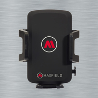 Maxfield Wireless Charging Car Charger (Schwarz)