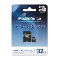 MediaRange 32GB microSDHC (Schwarz)
