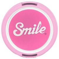 Smile 70's Home Digitalkamera 55mm Pink Objektivdeckel (Pink)