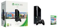 Microsoft Xbox 360 4GB + Peggle 2 (Schwarz)