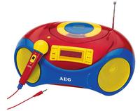 AEG SR 4363 CD Kids Line (Blau, Rot, Gelb)