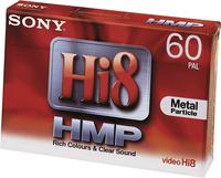 Sony 1x 60min Hi8