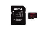 Hama microSDXC 64GB (Schwarz)