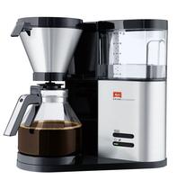 Melitta Aroma Elegance Freistehend Halbautomatisch Filterkaffeemaschine 1.25l 10Tassen Edelstahl (Edelstahl)