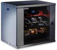 Intellinet 712088 Freestanding rack 60kg Schwarz Rack (Schwarz)