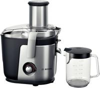 Bosch MES4010 Entsafter 1200W Schwarz, Silber Saftpresse (Schwarz, Silber)