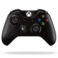 Microsoft W2V-00011 Spielkontroller (Schwarz)