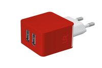Urban Revolt 20149 Ladegeräte für Mobilgerät (Rot)