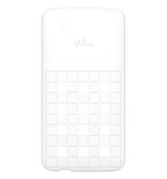Wiko 104014 Handy-Schutzhülle (Weiß)