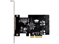 Silverstone SST-ECU01 Schnittstellenkarte/Adapter (Schwarz)