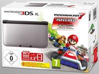 Nintendo 3DS XL + Mario Kart 7 (Schwarz, Silber)