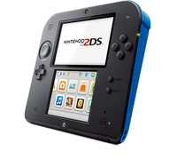 Nintendo 2DS + Mario Kart 7 (Schwarz, Blau)