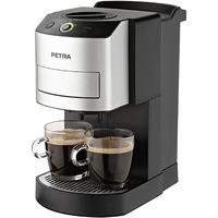 Petra Kaffee-Pad-Automat KM 44.07 (Schwarz, Edelstahl)