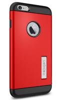 Spigen SGP10902 Handy-Schutzhülle (Schwarz, Rot)