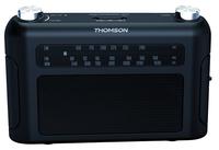 Thomson RT235 Tragbar Analog Schwarz Radio (Schwarz)