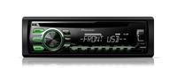 Pioneer DEH-1700UBG Auto-CD/DVD Tuner (Schwarz)