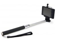 Dicota Selfie Stick (Schwarz, Edelstahl)