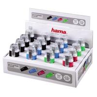 Hama 00054133 Kartenleser (Schwarz, Blau, Grün, Pink)