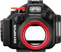 Olympus PT-EP12 (Schwarz, Rot)