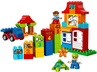 Lego DUPLO Deluxe Steinebox (Mehrfarbig)
