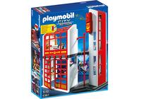 Playmobil 5361 - Feuerwehrstation mit Alarm (Mehrfarbig)