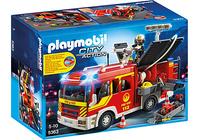 Playmobil 5363 - Löschgruppenfahrzeug mit Licht und Sound (Mehrfarbig)