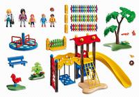 Playmobil 5568 - Kinderspielplatz (Mehrfarbig)