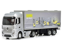 Dickie Toys RC Mercedes Benz Actros (Silber, Gelb)