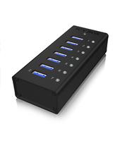 ICY BOX IB-AC618 Hub (Schwarz)