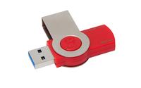 Kingston Technology DataTraveler 101 G3 32B 32GB USB 3.0 Metallisch, Rot USB-Stick (Metallisch, Rot)